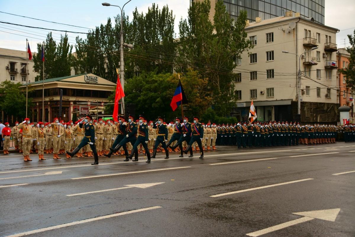 Парад Победы в Луганске 24.06.2020 смотреть онлайн